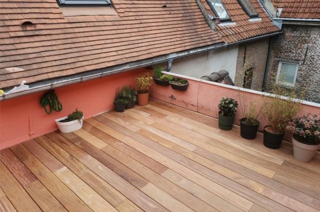 Terrasse Cumaru Unevis® 1