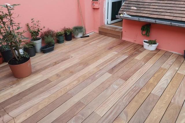Terrasse Cumaru Unevis® 2