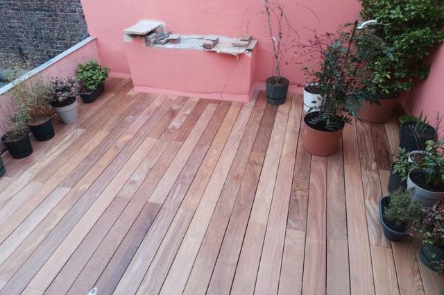 Terrasse Cumaru Unevis® 3