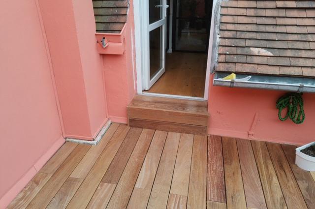 Terrasse Cumaru Unevis® 4